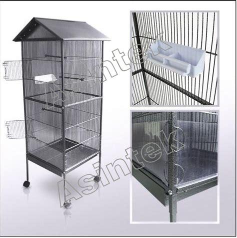 gabbie per cardellini gabbia in metallo voliera per volatili pappagalli canarini