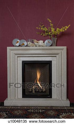 composite fireplace stock image of fireplaces composite contemporary