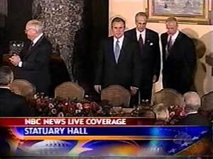 George W Bush 1st Inauguration - January 20, 2001 - ABC ...