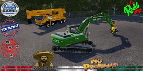 fs deere forestry excavator   simulator games mods