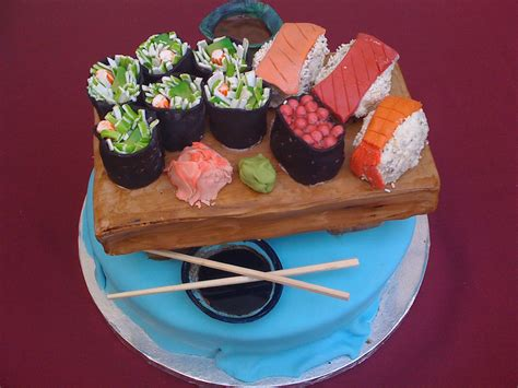 sushi birthday cake sushi birthday cake i made this for my friend shelly s