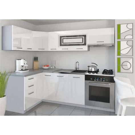 justhome lidja 1 l cuisine équipée complète 130x230 cm
