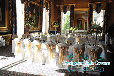 wedding chair covers at the iod