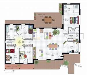 36 best plan maison images on pinterest house template With plan architecturale de maison