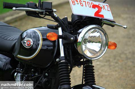 Speedometer Kawasaki W175 by Test Ride Ini Rasanya Kencan Singkat Bersama Kawasaki W175