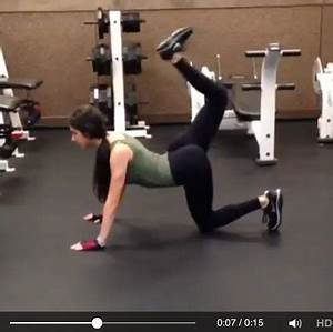 JEN SELTER GYM VIDEO #glutes #fitness | Fit happens ...