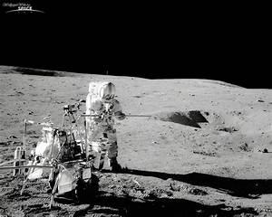 Space: Alan Shepard at Apollo 14, desktop wallpaper nr. 26540