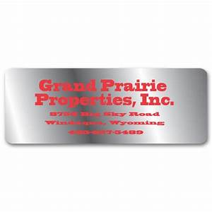 weatherproof company address labels free shipping With address label companies