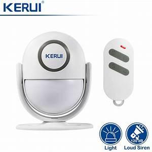 Kerui Alarm Instructions