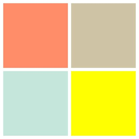 neutral color palette color palette for unisex gender neutral nursery salmon