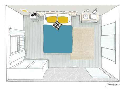croquis chambre décoration et aménagement d 39 une chambre à carcassonne