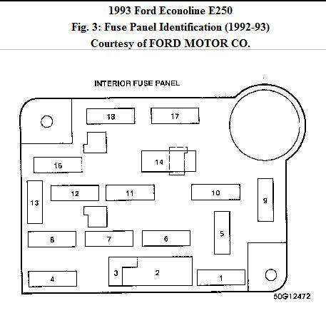 lost  owners manual      ford van