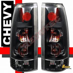 88 K C10 1500 2500 3500 Truck Silverado Sierra Black Tail Lights