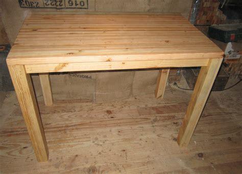 table cuisine bois table de cuisine touch 39 du bois