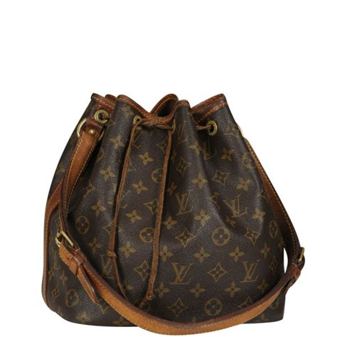 louis vuitton vintage lv monogram epi bucket bag brown