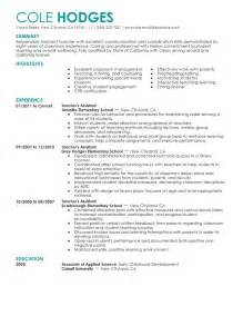 resume education or experience best assistant resume exle livecareer