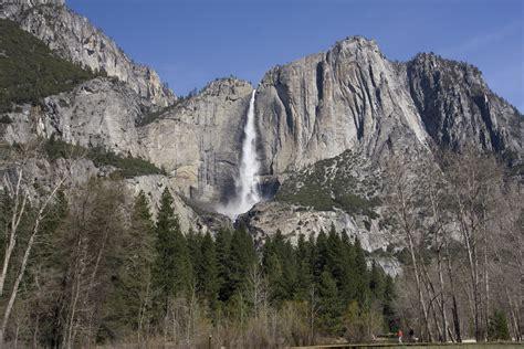 Bridalveil Fall Waterfall Yosemite National Park