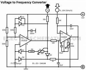 voltage to frequency converter circuit With white led flood lamp circuit b2b electronic components