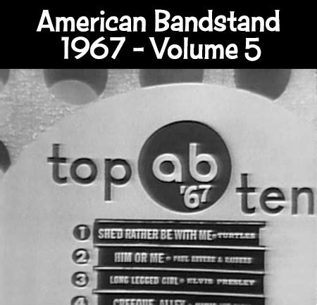 See more ideas about bandstand musical, musical theatre, musicals. BANDSTAND 1967 - Volume 5 TV Show on DVD - Turtles Buckinghams Joe Simon Johnny Rivers