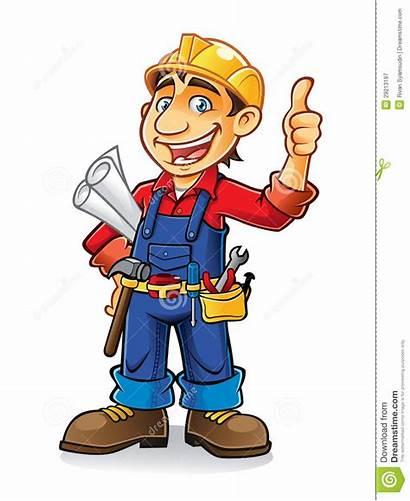 Worker Construction Clip Bauarbeiter Bouwvakker Clipart Muratore