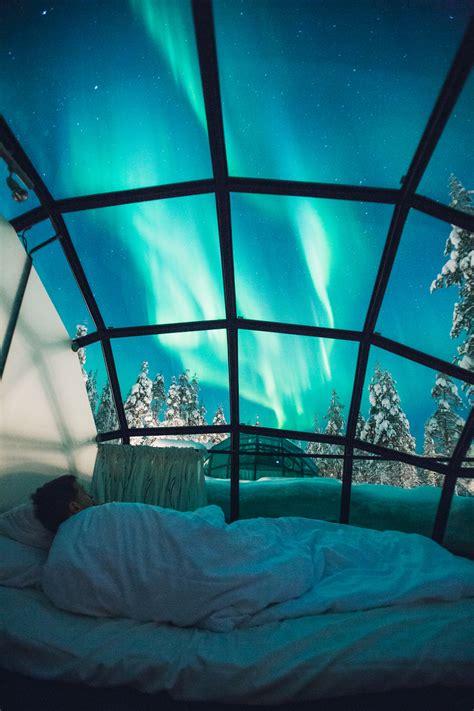 Finland Igloo Hotel Kakslauttanen An Igloo Under The