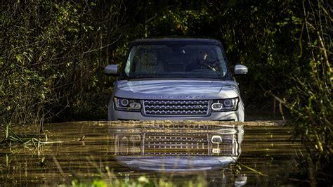 land rover water range rover vogue in water hdwallpaperfx