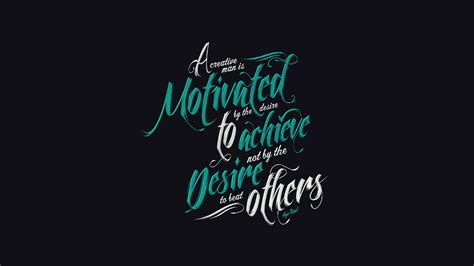 black background font quotes typography
