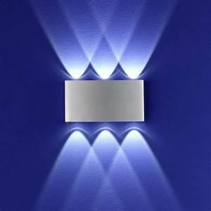 Wandleuchten Led Innen Modern : b leuchten led wandleuchte stream 6 40088 6 05 deutsche ~ Orissabook.com Haus und Dekorationen