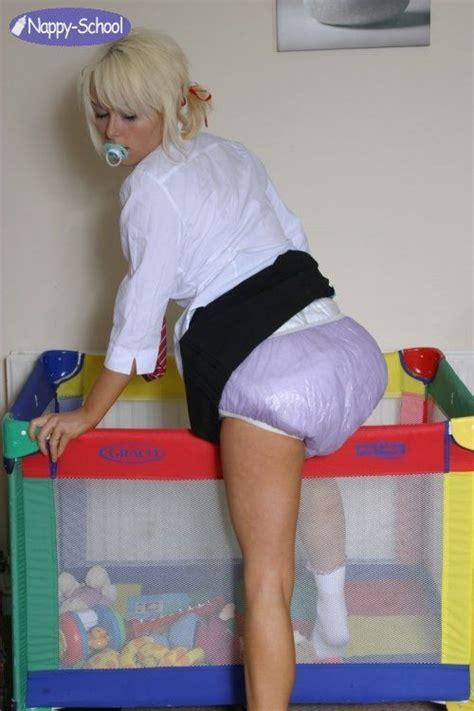 diaper school diapered schoogirls  abdl photo