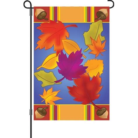 Discount Decorative Flags - leaves garden flag garden flags on sale flags