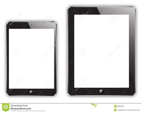 Ipad Black And White Clipart