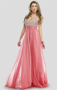 pink long sparkly prom dress | Put your red dress on, put ...