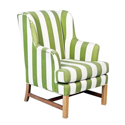 green and white accent chair corvallis productions