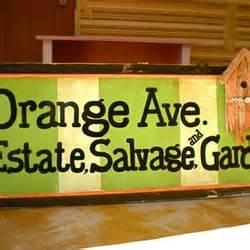 orange ave estate salvage  garden home decor long