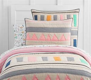 Margherita Missoni Linen Patchwork Quilted Bedding ...