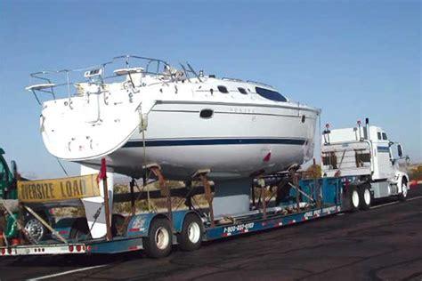 Boat Road Transport Cost by Navigating The Asphalt Seaworthy Magazine Boatus