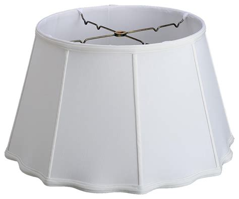 white l shade spider fitter fancy floor l shade spider fitting on 6 quot transitional