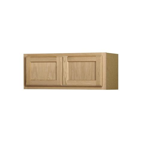 lowes unfinished wall cabinets shop project source 30 in w x 12 in h x 12 in d unfinished