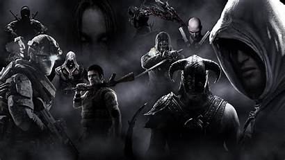 Games Mix Creed Skyrim Assassin Cool Wallpapers