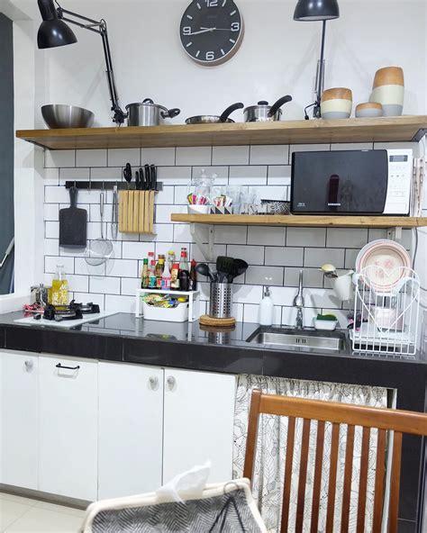desain lemari dapur gantung minimalis homkonsep