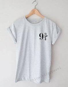 Vetement Harry Potter Femme : quai 9 3 4 harry potter chemise tumblr hipster par ~ Melissatoandfro.com Idées de Décoration
