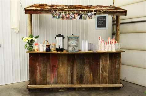 Diy Bar by Diy Rustic Wooden Bar