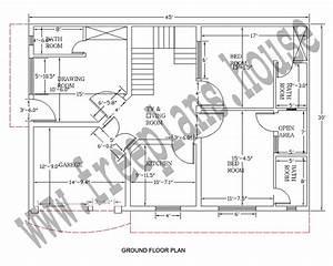 30×45 Feet/ 125 Square Meter House Plan