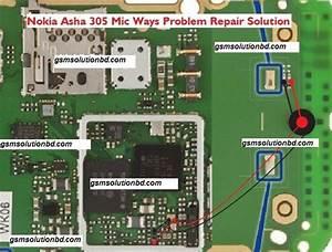 Nokia 305 Mic Jumper Diagram