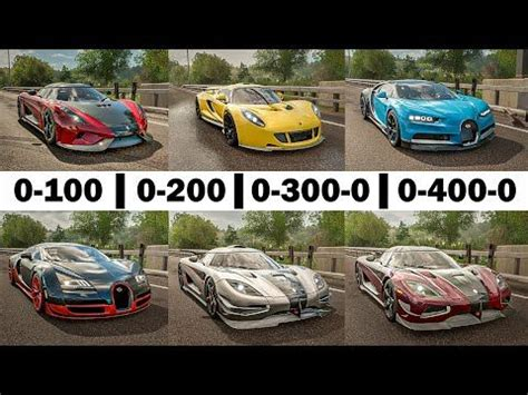 Venom hennessey bugatti gt veyron vs sport super spyder wanted most speed need. Forza Horizon 4 Acceleration Battle! - Chiron, Veyron, One:1, Regera, Agera RS & Venom GT ...