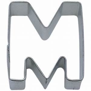 letter m cookie cutter cookie cutter experts since 1993 With letter m cookie cutter