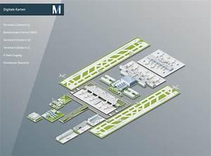 Plan B München : flughafen m nchen digitale karten ~ Buech-reservation.com Haus und Dekorationen