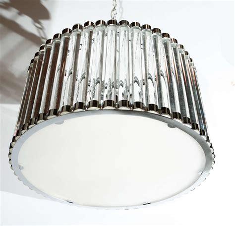 stunning bars drum italian chandelier at 1stdibs