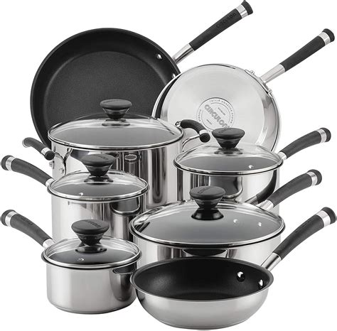 cookware circulon acclaim stainless steel nonstick under amazon pans pots