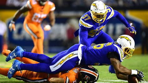 Denver Broncos 13-21 San Diego Chargers